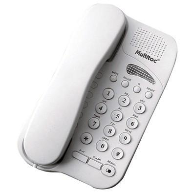 Telefone multitoc com fio studio branco mute0190