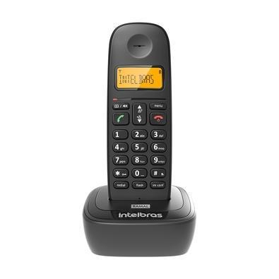 Telefone sem fio intelbras ts 2511 com identificador de