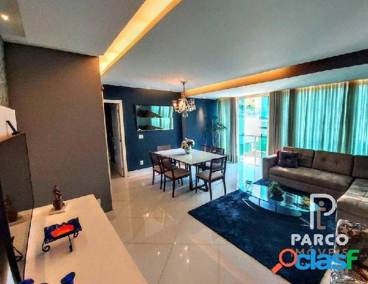 Apartamento decorado, espaçoso com 03 quartos a venda no belvedere
