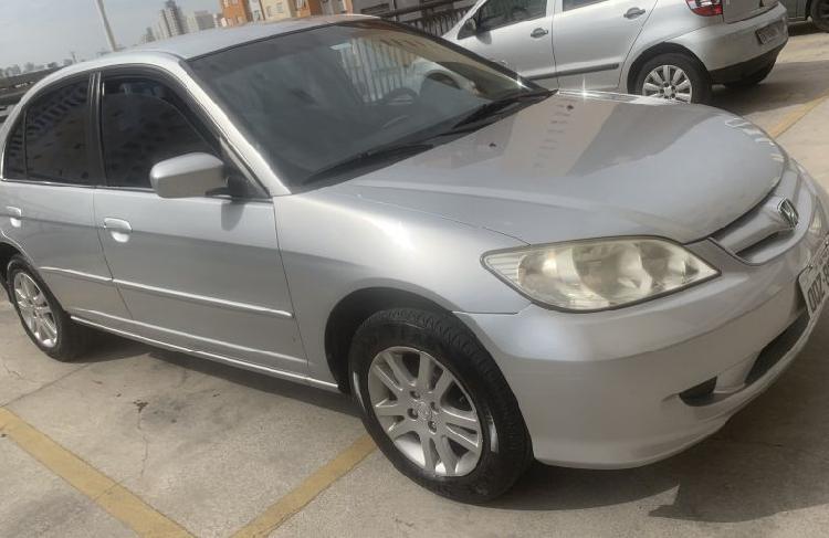 Honda civic sedan lx 1.7 16v / 2006