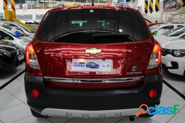 Chevrolet captiva sport fwd 2.4 16v 171185cv vermelho 2013 2.4 gasolina