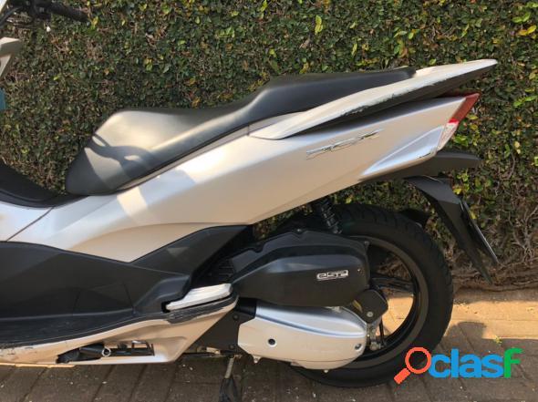 Honda pcx 150dlx prata 2017 150 gasolina