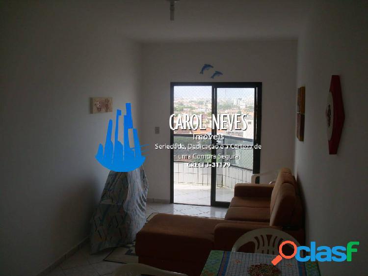 Apartamento 2 dormitórios frente praia mongaguá