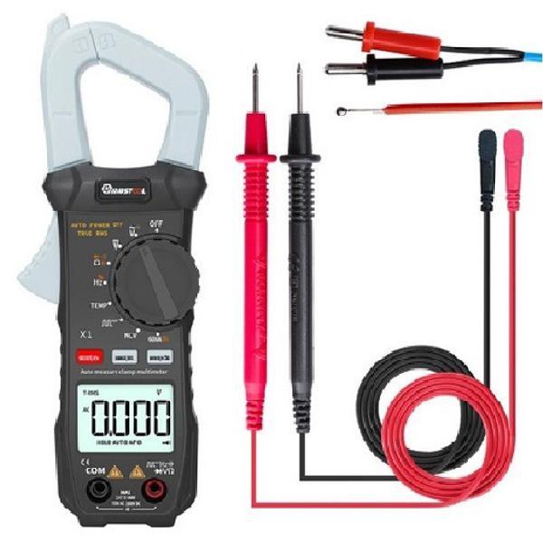 Alicate amperímetro com capacimetro