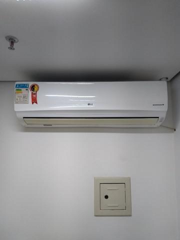 Ar condicionado lg inverter split 22.000 btu/h branco -