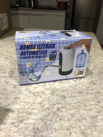 Bebedouro bomba elétrica para garrafão galão água
