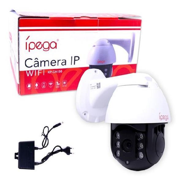 Câmera ip wifi ptz speed dome prova de água kp-ca156
