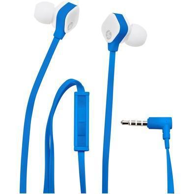 Fone de ouvido hp azul e branco - h2310