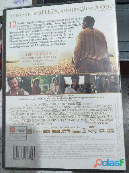 doze anos de escravidao promocao DVD 1