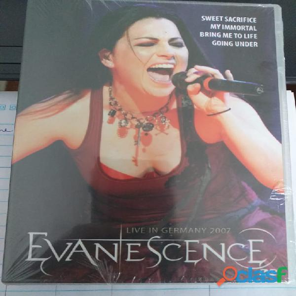 Evanescence Live In Germany 2007 Dvd