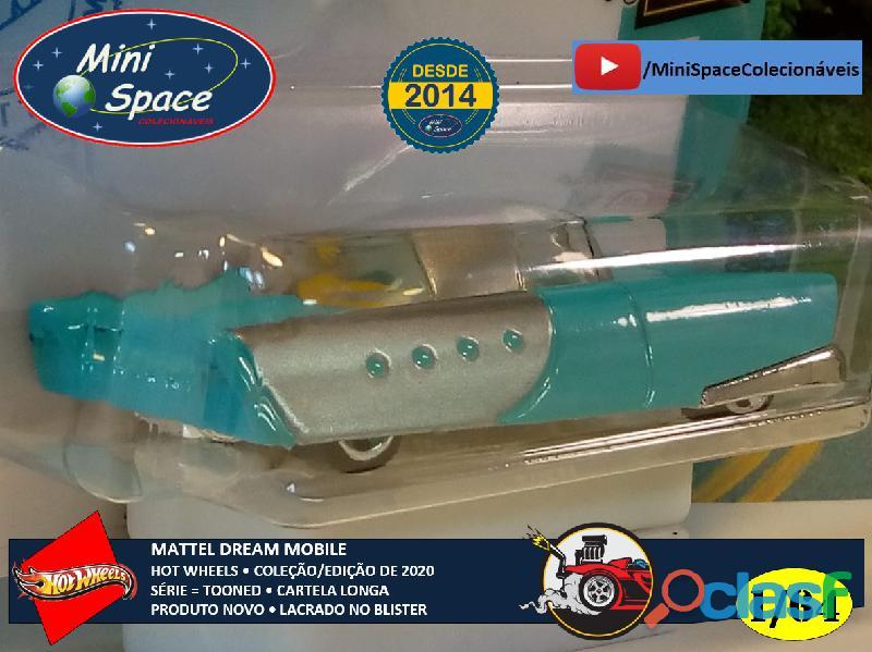 Hot Wheels 2021 Mattel Dream Mobile Azul Cartela Longa 1/64 7