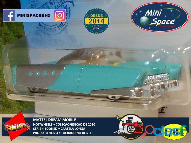 Hot Wheels 2021 Mattel Dream Mobile Azul Cartela Longa 1/64 8