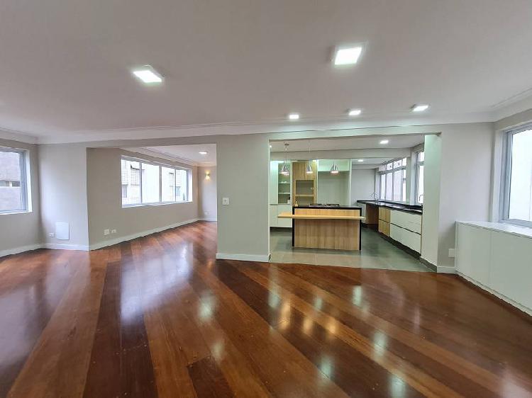 Apartamento para venda com 145 metros quadrados com 3