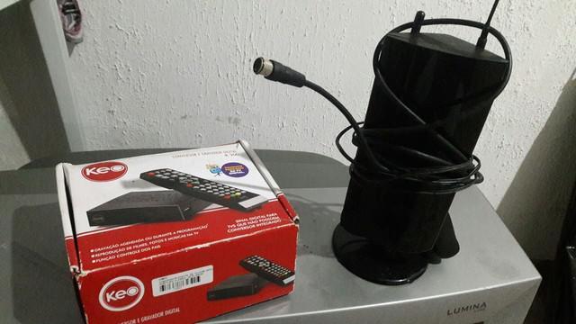 Conversor digital e antena digital
