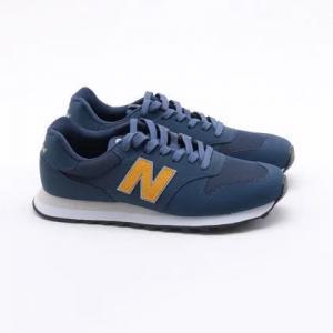 Parcelado] Tênis New Balance 500 Azul Masculino Azul e