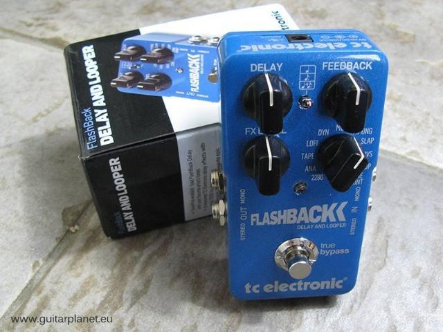 Pedal flashback - reverb t2