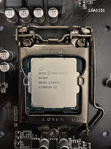 Processador g4560 7°gen intel