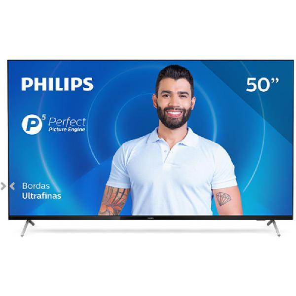 Smart TV Philips 50PUG7625/78 4K UHD P5 HDR10 Bluetooth