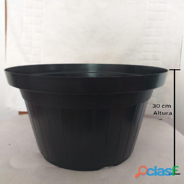 vaso de planta e flores tamanho 35 x 30 cm PLR 35