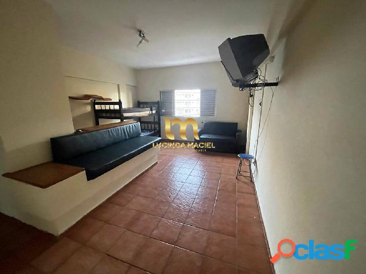 Apartamento kitnet, 100 metros da praia - vila guilhermina
