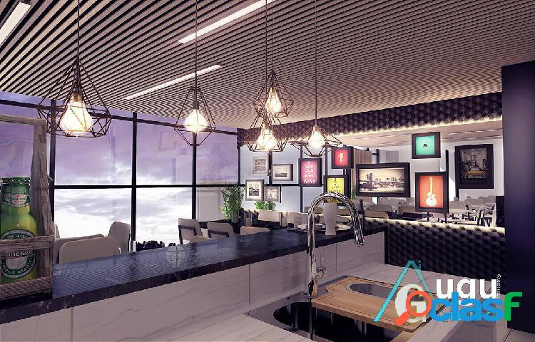 Apartamento 02 quartos praia do canto vitória/es em obras