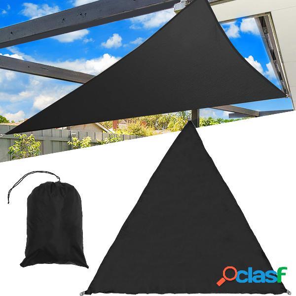 3/5 m extra duty sombra vela sol canopy ao ar livre triângulo jardim quintal toldos verão car sunshade
