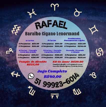 Cartomante rafael online