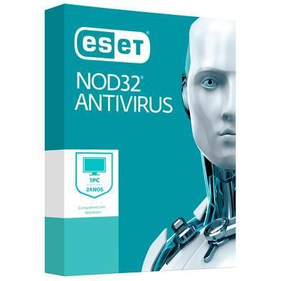 Eset antivirus nod32 1 pc, 2 anos - digital para download