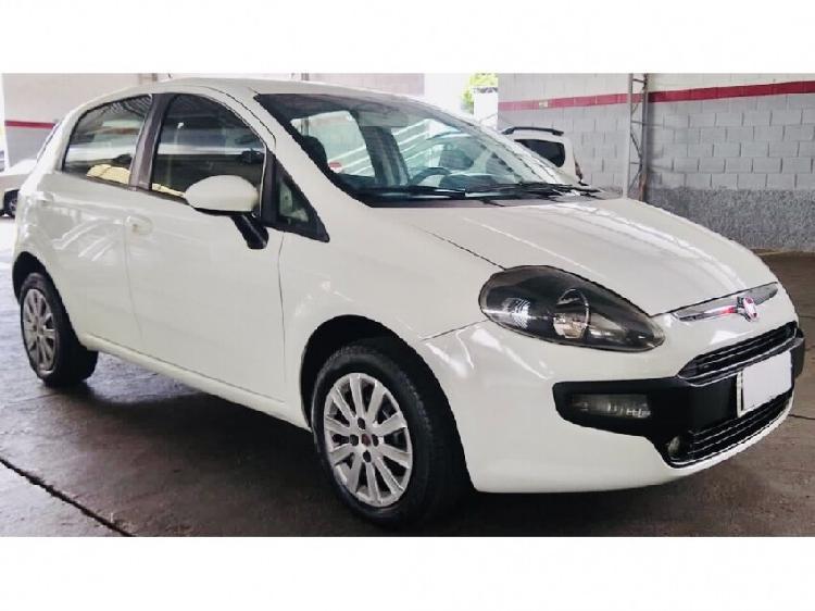 Fiat punto 1.4 attractive 8v branco 2014/2014 - campinas