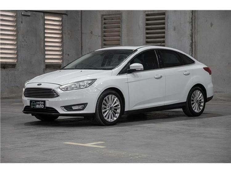 Ford focus 2.0 titanium fastback 16v branco 2018/2019 -
