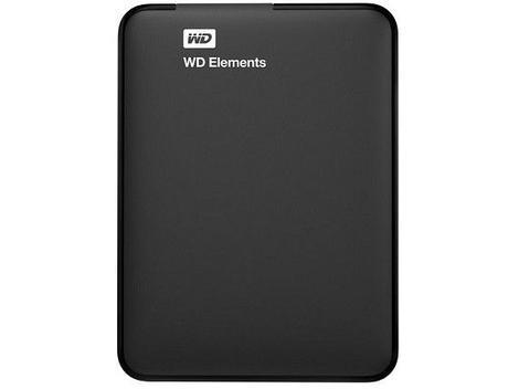 Hd externo 1tb western digital elements usb 3.0 - hd externo