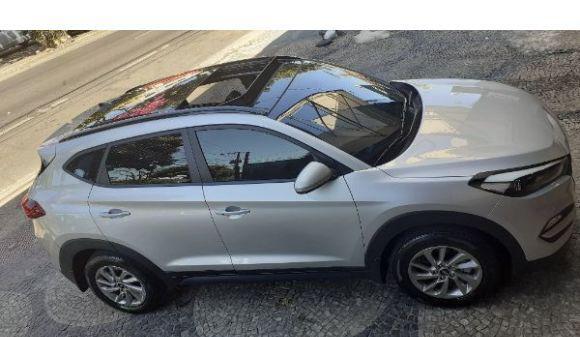Hyundai tucson 1.6 gls 1.6 turbo 16v aut. 17/18 prata