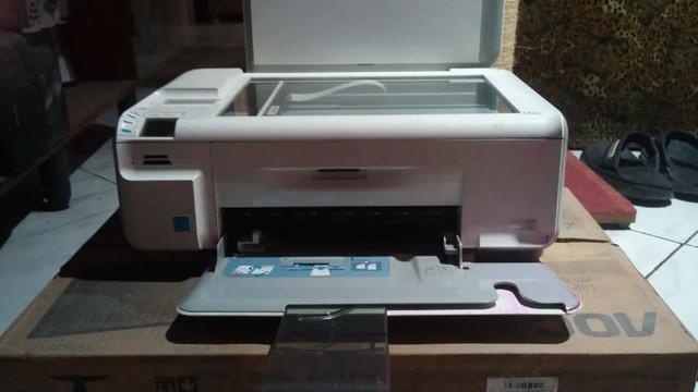 Impressora multifuncional hp photosmart c4480 - com defeito
