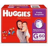 Marketplace] fralda huggies roupinha supreme care g 60