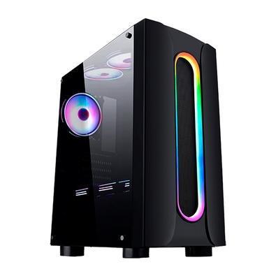 Pc gamer g-fire amd athlon 3000g, 8gb, ssd 120gb, rgb,