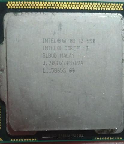 Processador intel® core i3-550 4m de cache, 3.20