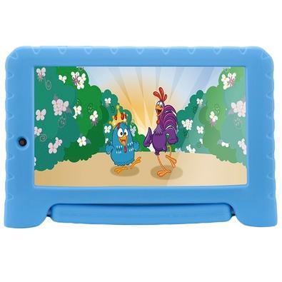Tablet multilaser galinha pintadinha plus, bluetooth,