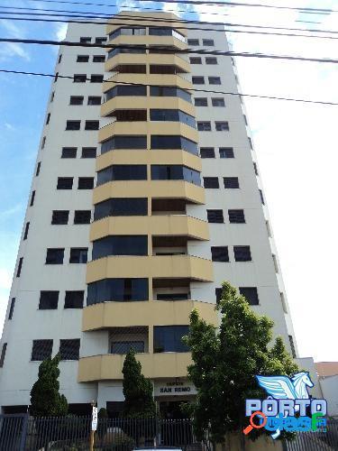 Edificio san remo - 03 dormitórios sendo 1 suite - centro
