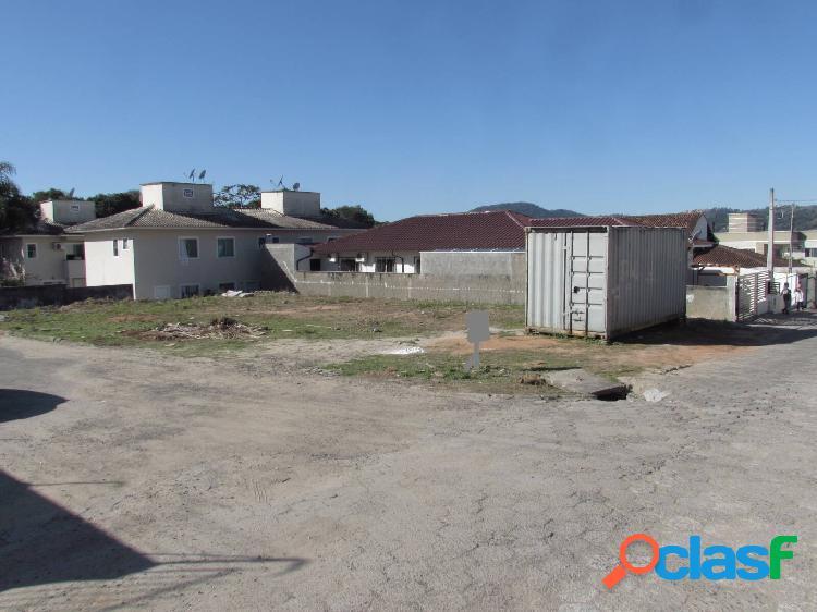 Terreno esquina à venda, 476,00 m² - forquilhas são josé /sc