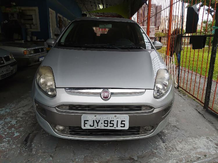Fiat punto 1.4 attractive 8v cinza 2013/2013 - são bernardo