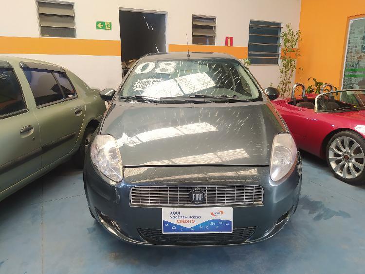 Fiat punto 1.4 elx 8v cinza 2008/2008 - são bernardo do