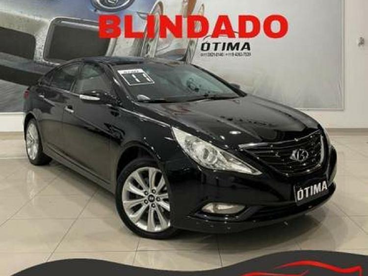 Hyundai sonata 2.4 16v preto 2010/2011 - são paulo 1555890