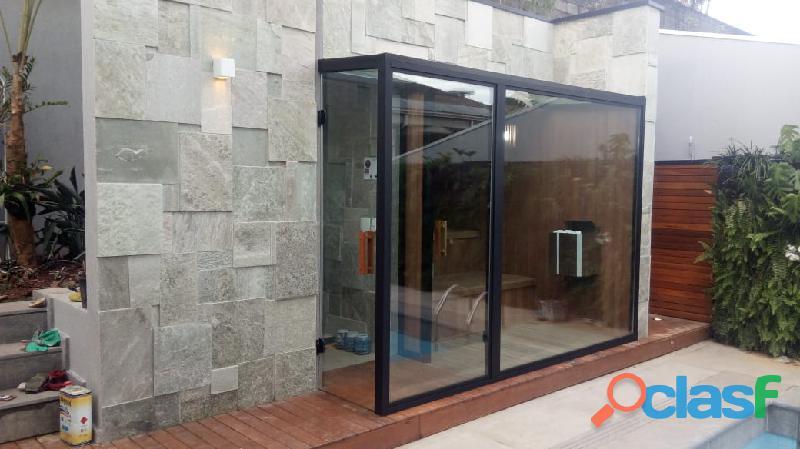 quer uma linda sauna úmida de vidro então venha conferir nossas saunas