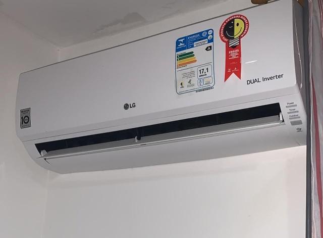 Ar condicionado split lg dual inverter 9.000 btus frio 220v