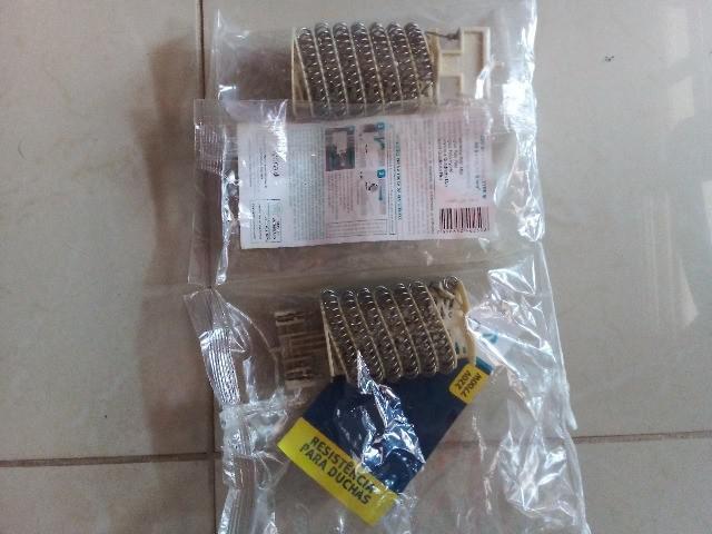 Barbada ? duas resistências para duchas hydra 220v e 7700w