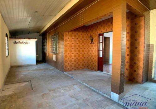 Casa com 2 dormitórios para alugar, 70 m² por r$