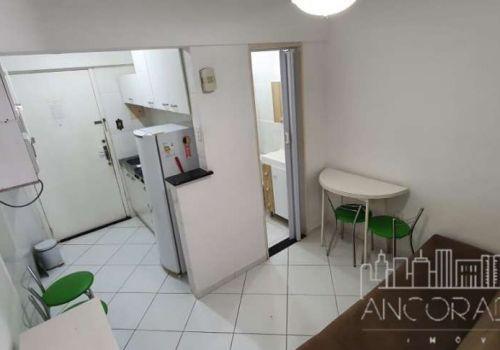 Edifício san martin: 1 dormitório, mobiliado, frente para