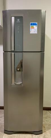 Geladeira/ refrigerador duplex com dispenser de água -
