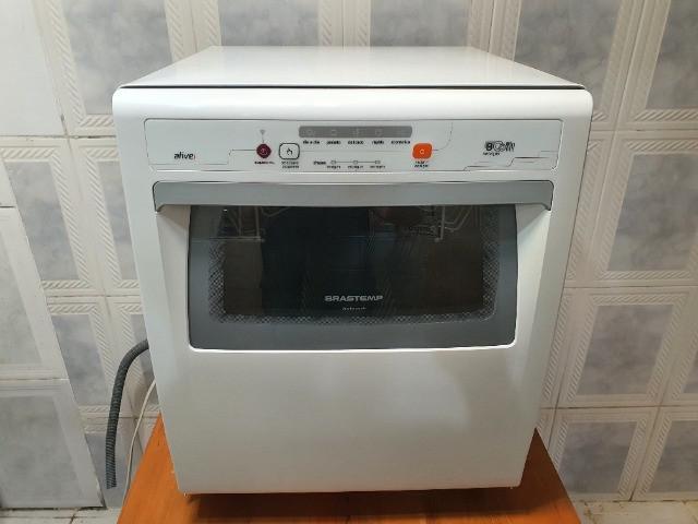Maquina lava louças brastemp compacta 8 - ótimo estado de