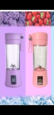 Mini liquidificador com 6 lâminas